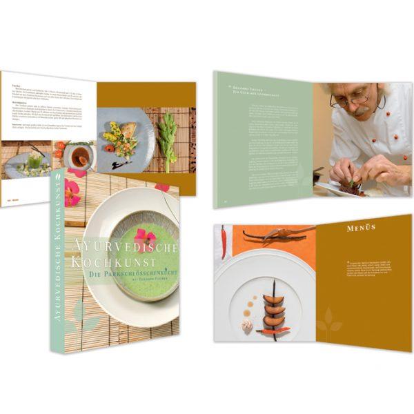 """Das Ayurveda Parkschlösschen Kochbuch """"Ayurvedische Kochkunst - Die Parkschlösschenküche"""""""