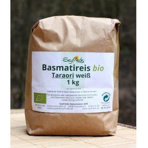 Bio Basmatireis im Ayurveda Parkschlösschen Onlineshop