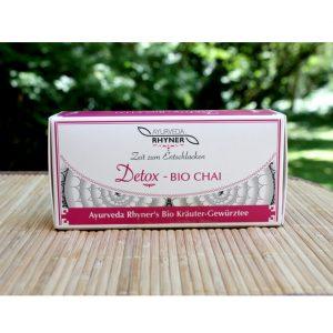 Detox Tee im Ayurveda Parkschlösschen Onlienshop