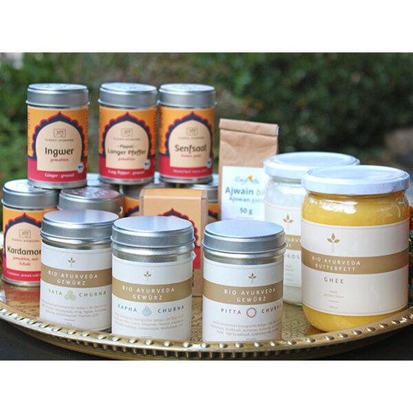 Ayurveda Basic Cooking Paket I im Ayurveda Parkschlösschen Onlineshop
