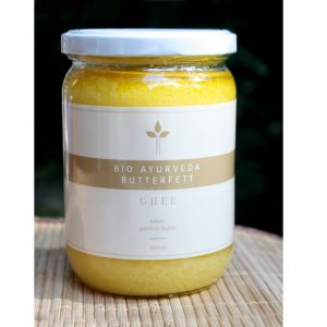 Organic Ghee (clarified butter) at the Ayurveda Parkschlösschen Online Shop