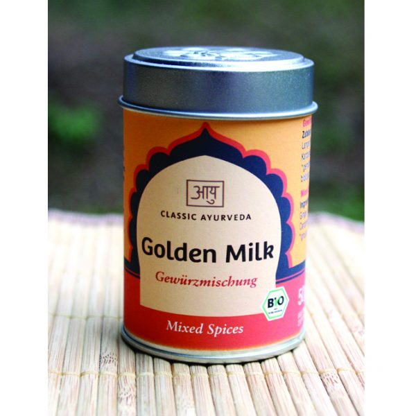 Golden Milk Gewürzmischung im Ayurveda Parkschlösschen Onlineshop