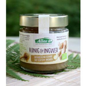 Honig mit Ingwer im Ayurveda Parkschlösschen Onlineshop