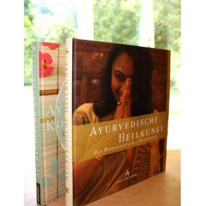 Kombipaket Kochbuch + Praxisbuch aus dem Ayurveda Parkschlösschen