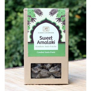 "Candied Amla fruits ""Sweet Amalaki"" at the Ayurveda Parkschlösschen Online Shop"