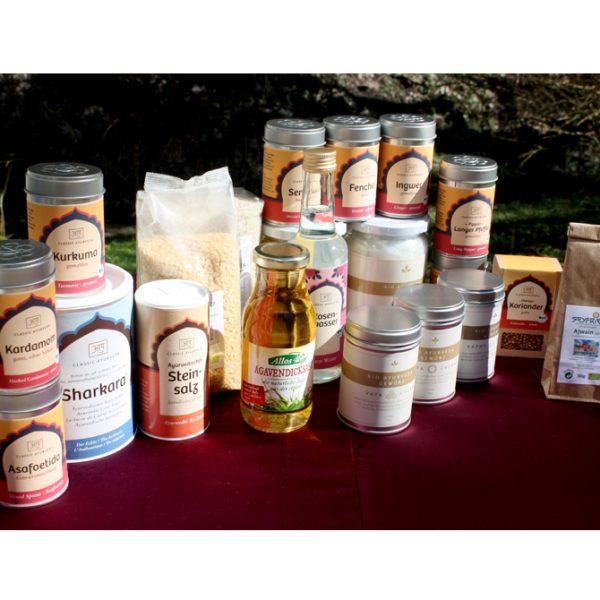 Ayurveda Basic Cooking Paket II im Ayurveda Parkschlösschen Onlineshop