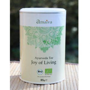 """""""Joy of Living"""" Tee im Ayurveda Parkschlösschen Onlineshop"""