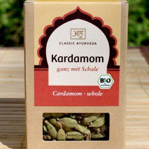 Cardamom at the Ayurveda Parkschlösschen Online Shop