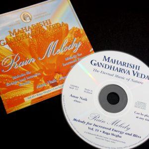 """CD """"Rain Melody"""" im Ayurveda Parkschlösschen Onlineshop"""