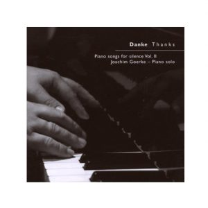 Joachim Goerke Piano Solo: Danke | Thanks im Ayurveda Parkschlösschen Onlineshop