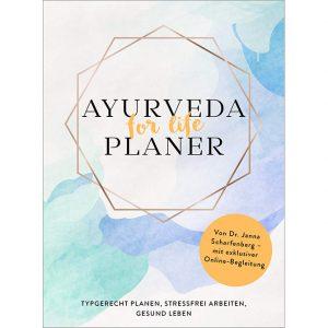 Dr. Janna Scharfenberg: Ayurveda for life Planer im Copyright Ayurveda Parkschlösschen Onlineshop