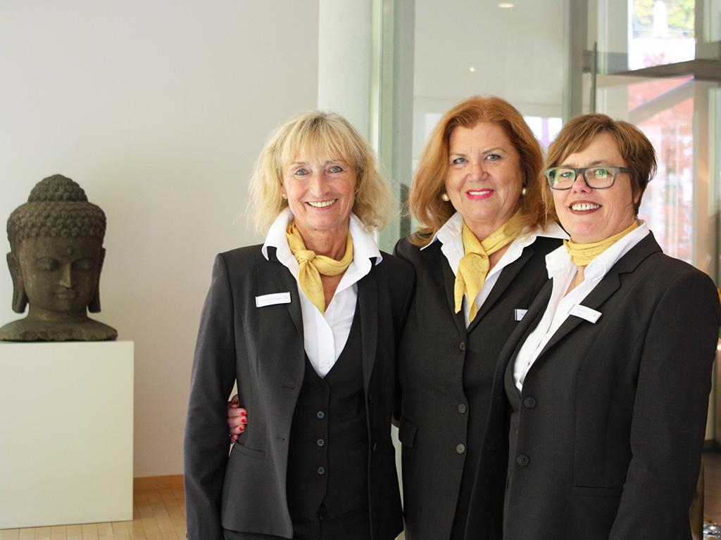 Das Shop-Team im Ayurveda Parkschlösschen Hotelshop