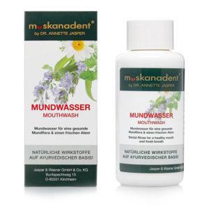 Muskanadent Mundwasser | Ayurveda Parkschlösschen Onlineshop