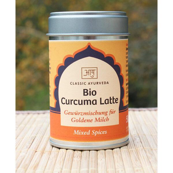 Curcuma Latte | Gewürzmischung für Goldene Milch | Ayurveda Parkschlösschen Onlineshop