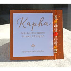 Kapha Dosha Armband | Edelstein Armkettchen Kapha | Ayurveda Parkschlösschen Onlineshop