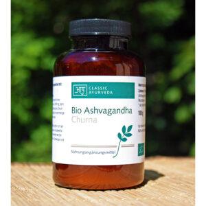 Bio Ashwagandha Churna | Ayurveda Parkschlösschen Onlineshop