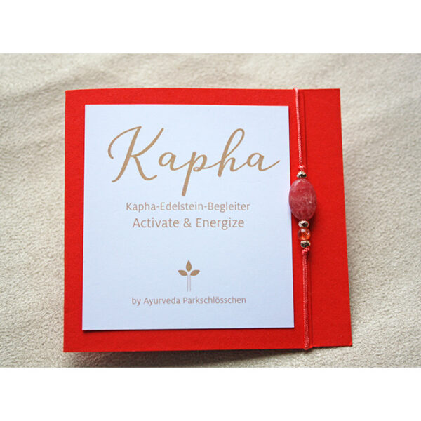 Kapha Summer Edition Dosha Armband   Edelstein Armkettchen Kapha   Ayurveda Parkschlösschen Onlineshop